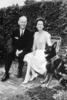 Governor & Mrs. Bryant with dog, Vic, ca. 1962