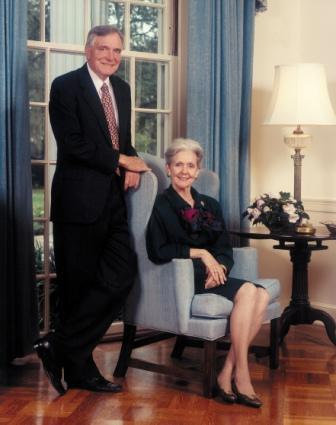 Governor & Mrs. Chiles, ca. 1994