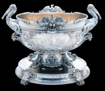 USS Florida punch bowl