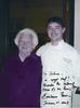 Mrs. Barbara Bush with Chef Josh Butler, 2003