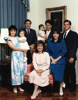 The Martinez Family, 1987