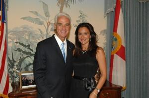 Governor & Mrs.Crist
