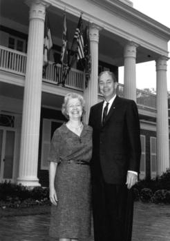Governor & Mrs. Burns, ca.1966